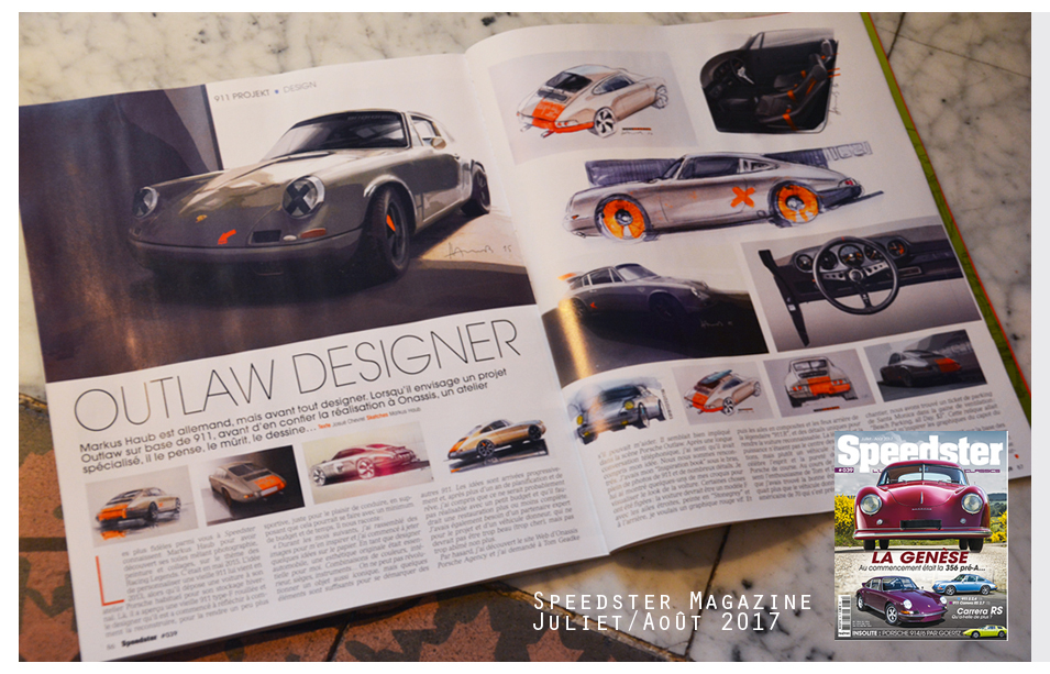 Artikel Speedster Magazine #39, France__July/August 2017