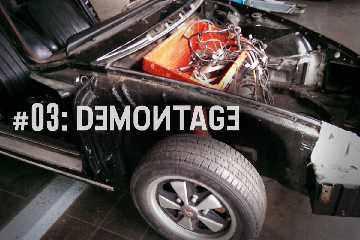 The Story of Porsche Projekt 9110101621__#3: Demontage