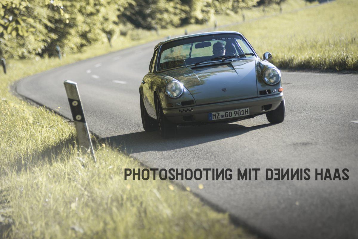 Photoshooting mit Dennis Haas / THG MAG