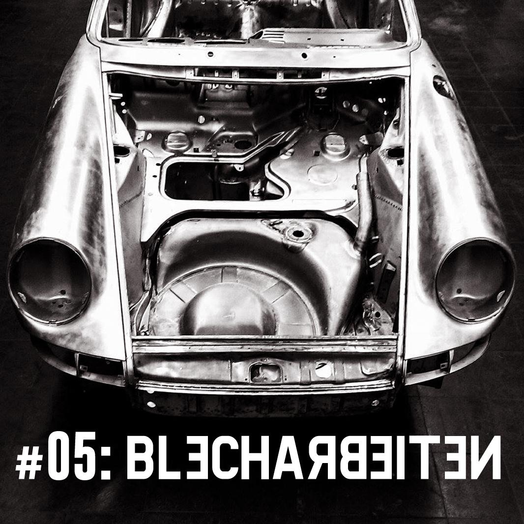 The Story of Porsche Projekt 9110101621__#5: Die Blecharbeiten