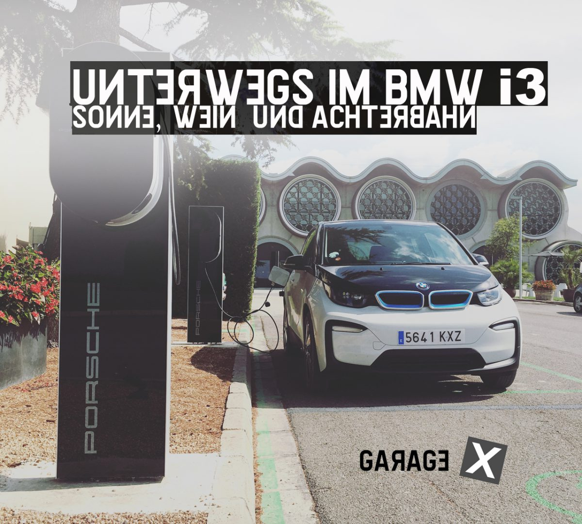 Roadtrip im BMW i3___Penedes, Priorat, Portaventura