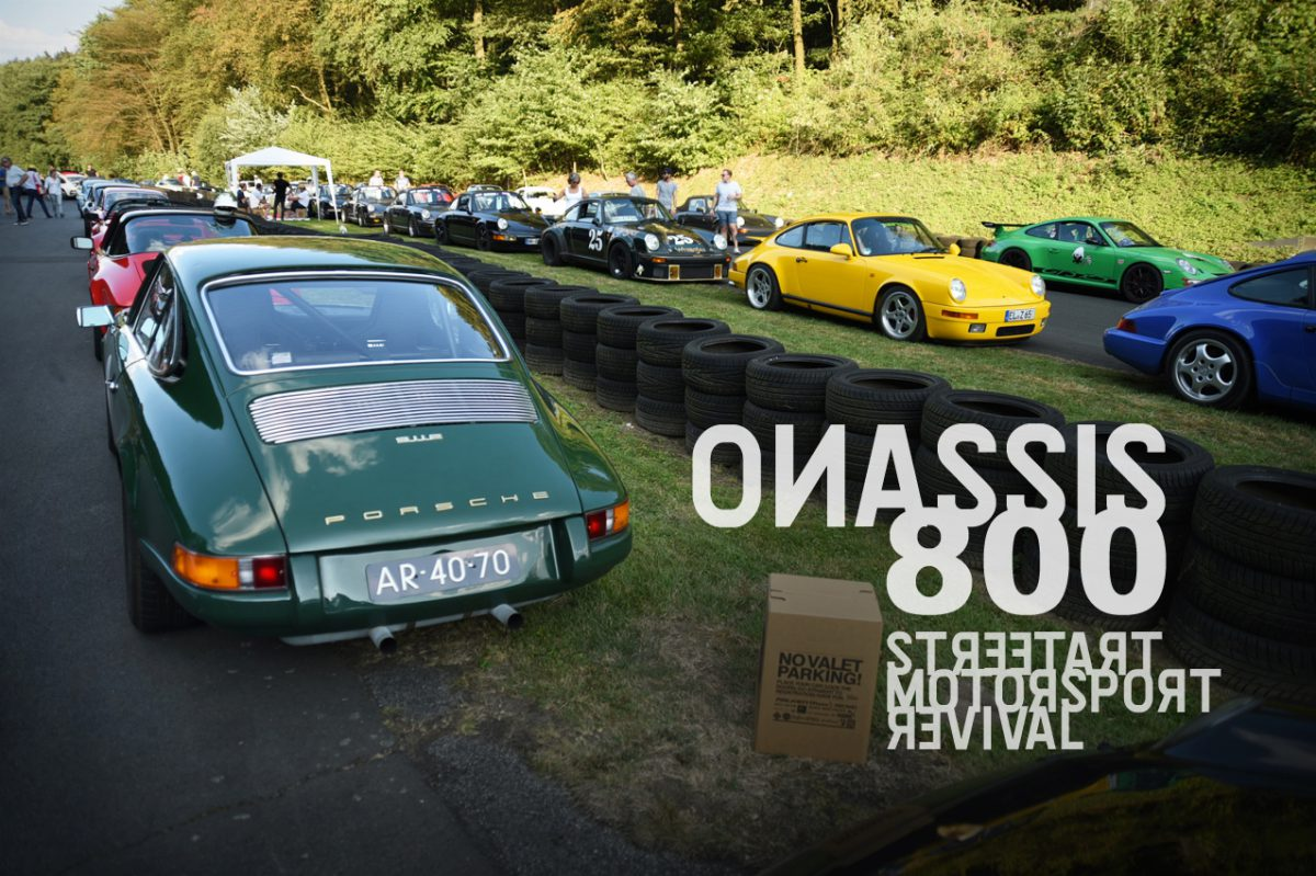 ONASSIS800 – Streetart. Motorsport. Revival.