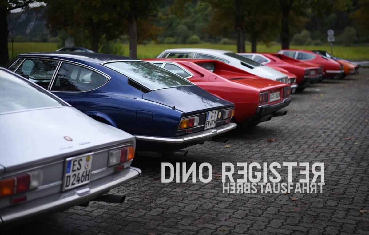 Dino Register Deutschland Herbstausfahrt
