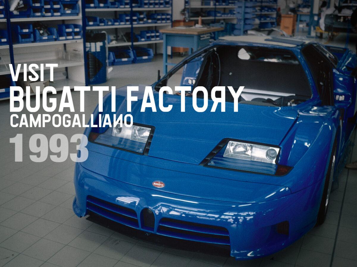 Flashback 1993: Pilgerfahrt nach Turin, Bologna und zur Bugatti Fabrik in Campogalliano