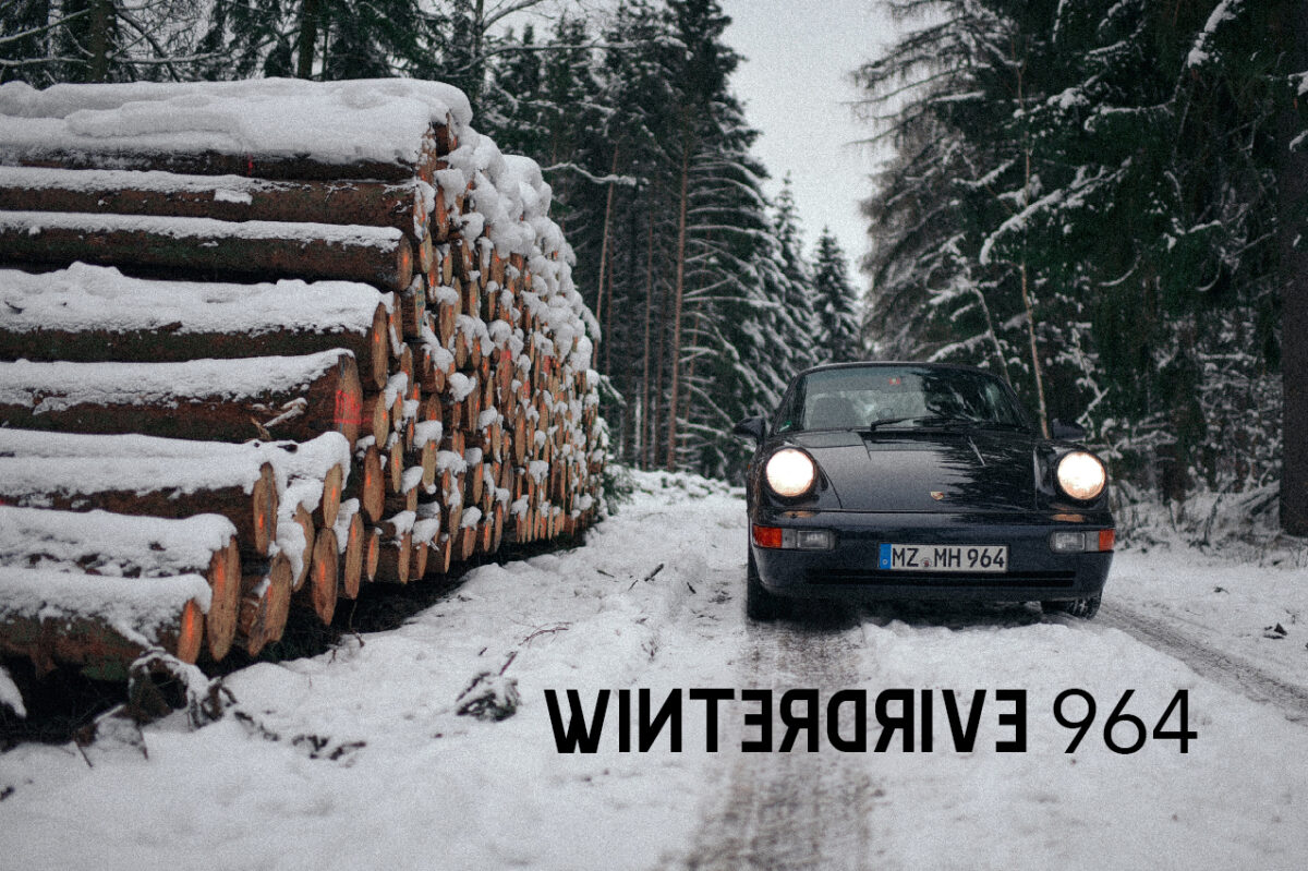 Unterwegs im Schnee…
